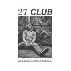 Kurt Cobain Nirvana T-shirt Vintage Grunge 90's courtney love 27 Club... ❤ liked on Polyvore