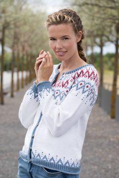 no - gu-mammahjerte-jakke Cardigan Design, Knit Jacket, Crochet, Ravelry, Bell Sleeve Top, Knitting, Coat, Sweaters, Pattern
