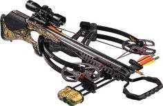 Barnett Vengeance Crossbow with 3x32mm Scope Package, 140-Pound, Camouflage.