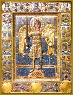 Icon of the Archangel Michael, Constantinople, twelfth century. Middel Byzantijnse periode.