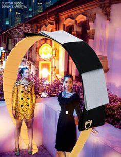 Headband inspired by Prismatic in Harper's Bazaar Malaysia October 2015