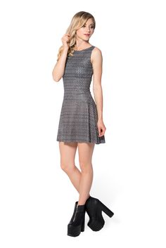 Chainmail Play Dress (WW $85AUD / US $80USD) by Black Milk Clothing