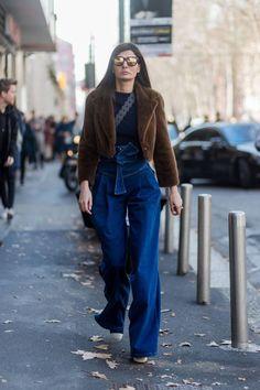 Classy Fashion Tips Giovanna Engelbert Street Style European Street Style, Best Street Style, Street Style 2017, Street Chic, Street Style Women, Street Styles, Giovanna Battaglia, Star Fashion, Love Fashion