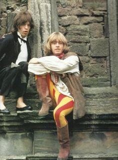 Mick Jagger & Brian Jones                                                                                                                                                                                 More