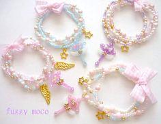 Sparkly/Pastel Bracelets