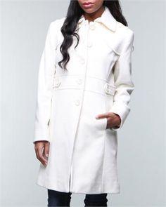 Winter White Coat xoxo...One that I ordered today:) | Coat ...