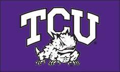 TCU Horned Frogs Logo 3x5 Flag