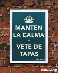 Mantén la calma y vete de tapas, Almería