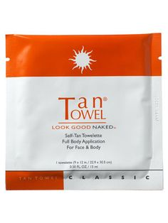 TanTowel Classic Self-Tan Towelette
