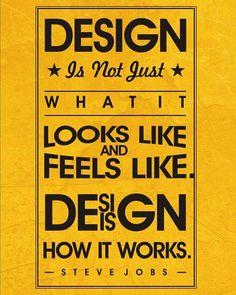 Design is not what it looks like or feels like design is how it works - Steve Jobs.  Print available on artangle.com  #stevejobs #apple #design #designer #art #artistoninstagram #typo #typography #motivationalquotes #motivational #leadership #leader #instaart #instadaily #instamood #artangle #posters #walldecor #decor #goodmorning #tea #coffee #coffeebreak #coffeetime #likeforlike #followforfollow by theartangle