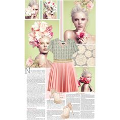 Spring Pastel by hannahrox313 on Polyvore featuring rag & bone, J.W. Anderson and Kate Spade