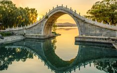 Image result for Moon Bridge Temple, China