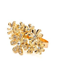 Floral Burst Ring from Jewelry Best Sellers for Less on Gilt