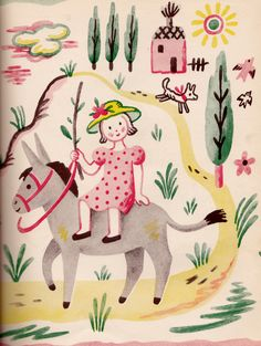 From The Thank You Book by Francoise Seignobosc, French/American author 1940s