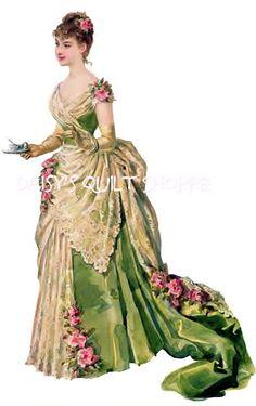Pretty Victorian Lady
