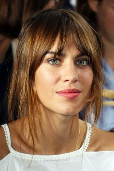 Insane Alexa Chung bangs – InStyle  The post  Alexa Chung bangs – InStyle…  appeared first on  Iser Haircuts .