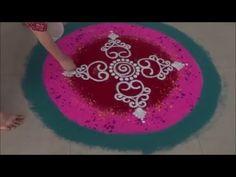 Special Rangoli Design 3 Gudi Padwa Special Design - YouTube