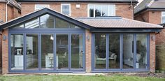 1930s House Extension, Conservatory Extension, House Extension Design, Extension Designs, Roof Extension, Extension Ideas, House Design, Bungalow Extensions, House Extensions