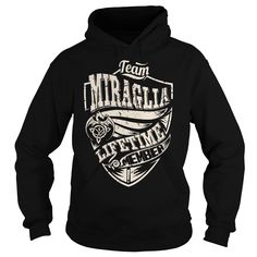 Team MIRAGLIA Lifetime Member (Dragon) - Last Name, Surname T-Shirt