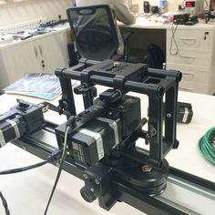 at the office of SlideKamera - motorized system X-MOTOR.. в офисе компании SlideKamera - моторизированная система X-MOTOR #slidekamera #filmmaking #videoproduction #cinematography #movie #motorized #motioncontrol