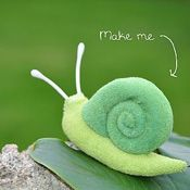 need to make some cute snails for the playroom