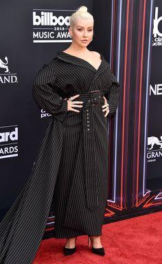 Christina Aguilera attends the Billboard Music Awards 2018