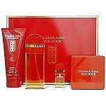 Red Door Set -EDT Spr 3.3 oz+ B/Lotion 3.3 oz+S/Gel 3.3 oz+ Mini 10 ml for Women by Elizabeth Arden by Elizabeth Arden. $65.95. Designer - Elizabeth Arden. 100 % Original Brand Names. Red Door GiftSet - EDT Spray 3.3 oz. + Body Lotion 3.3 oz. +Shower Gel 3.3 oz. + Mini spray 10 ml.. Launched by the design house of Elizabeth Arden in 1989, RED DOOR is classified as a luxurious, flowery fragrance. This feminine scent possesses a blend of red rose, violet, jasmine, lily o...