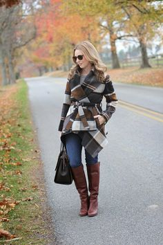 chicwish prairie coat, jcrew jeans, nine west boots, boden handbag, elizabeth and james sunglasses, by @simplylulustyle