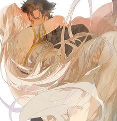 Fate/Zero, Emiya Kiritsugu and Irisviel von Einzbern