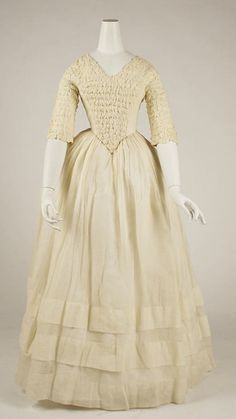 Dress, 1841-1844, The Metropolitan Museum of Art