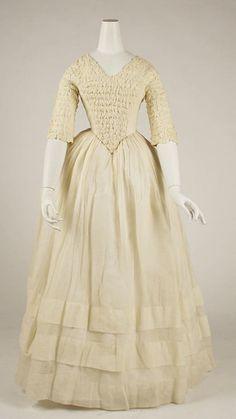 Dress, 1841-1844, The Metropolitan Museum of Art