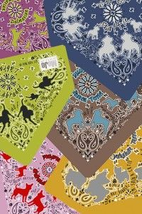 silk dog bandanas in different colours Silk Bandana, Dog Bandana, Bandanas, Animal Design, Textile Design, Different Colors, Dog Breeds, Terrier, Decorative Boxes