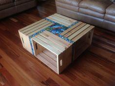 Pallet Coffee Table With Mosaic Mosaics Coffee and Pallets