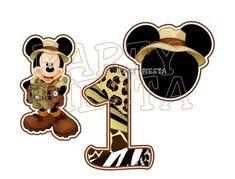 Mickey Safari GoPartyFiesta                                                                                                                                                                                 Más