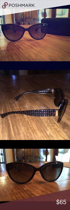 Ralph Lauren Polarized Sunglasses & Hard Case Tortoise. Polarized. Worn twice. Perfect condition. No scratches or wear and tear. Comes with hard shell case. Ralph Lauren Accessories Sunglasses