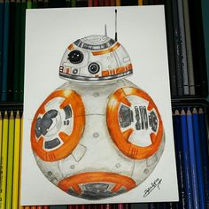 Bb8 starwars drawing