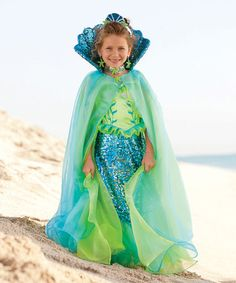 Another great find on #zulily! Blue Fairytale Mermaid Cape #zulilyfinds