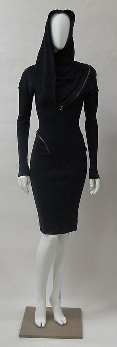 Dress Azzedine Alaïa (French, born Tunisia, 1940) Date: 1986 Culture: French Medium: wool, metal
