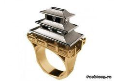 Кольца-колечки) / коктейльное кольцо