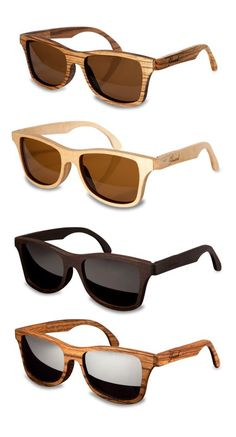 Shwood Canby retro wayfarer wooden sunglasses -  Sale! Up to 75% OFF! Shot at Stylizio for women's and men's designer handbags, luxury sunglasses, watches, jewelry, purses, wallets, clothes, underwear & more!