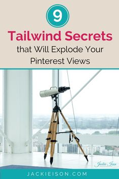 9 Tailwind Secrets that Will Explode Your Pinterest Views - Tailwind is much more than a Pinterest scheduler. It is a Pinterest marketing strategy tool! I have discovered some of its best-kept secrets successful bloggers use to make their traffic explode. Pinterest | Tailwind | Blog Marketing | Pinterest Marketing | Pinterest Strategy  #pinterest #marketing #tailwind #blogmarketing