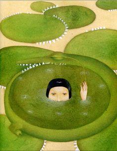Untitled by Uruguayan-born, Italian-based artist Alicia Baladan (b 1969). via the artist's site