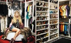 Yes please - I'll take the closet and the husband thanks - Fergie's Closet (InStyle Magazine)