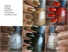 I'm so ready: China Glaze The Hunger Games collection.