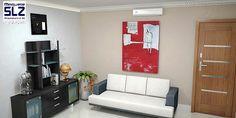 Escritório 2/3 - Maquete eletrônica de um escritório ambientado. #maqueteslz #maqueteeletrônica #arquitetura #3d