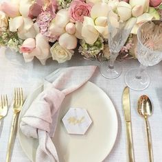 """108 Likes, 5 Comments - Table Art (@tablearteventhire) on Instagram: """"Beautiful soft pink, ivory & stone with our Whisper Weave by the talented duo…"""""""
