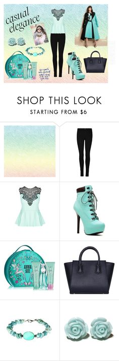 """""""Untitled #13"""" by minela-fehric ❤ liked on Polyvore featuring City Chic, Anna Sui and FAUSTO PUGLISI"""