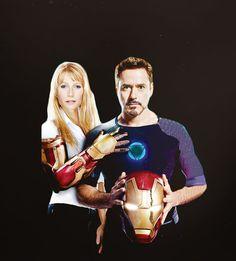 Pepper Potts & Tony Stark