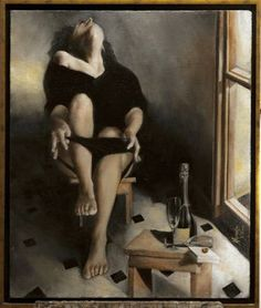 """Saatchi Art Artist Nikos Mourikis; Painting, """"Eros...Illegal methexis"""" #art Oil On Canvas, Saatchi Art, Artworks, Original Paintings, Artist, Artists, Art Pieces"""
