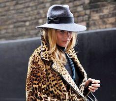 Leopard + Hat